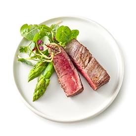 Fleisch, Hackfleisch, Steak, Schnitzel, Scaloppina, Filet-Steak - italienisch und kroatisch - Restaurant in Würzburg