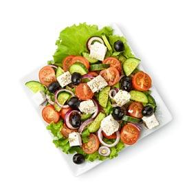 Salat - italienisch und kroatisch - Restaurant in Würzburg